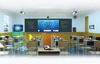 """鴻合""""一核兩翼""""智能互聯黑板  用科技助力高效智慧課堂"""