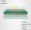 紅雙喜羽毛球運動地膠DB508 羽毛球地膠墊 防滑耐用pvc運動塑膠地板
