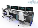 巧夺天工科技 组合式多媒体工作站 ED-SP9705 科技风全金属可组合式调度台控制台