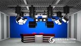 虚拟演播室 小型企业演播室网络直播演播室