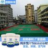 湖南丙烯酸球场材料品牌 学校公园球场施工 丙烯酸直销厂家