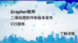 二维绘图软件Grapher V15已发布