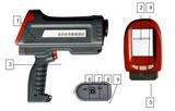 亚欧 手持式逆反射系数检测仪,逆反射系数测定仪  DP-UNS2