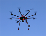 EcoDroneUAS-8多功能无人机遥感系统