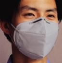 9021 折叠式防尘口罩(灰色,耳带式)