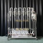 活性炭吸附實驗裝置(六柱)