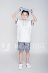 中小学夏季格子运动套装