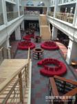 牛栏山中学校园图书馆 沙发桌椅整体解决方案