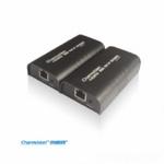 创威视IPEV-120H,120米HDMI局域网TCP/IP延长器,无限级联交换机