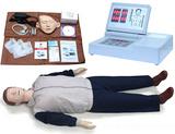 电脑心肺复苏模拟人,现场急救训练人体模型,cpr,人工呼吸橡皮人,假人