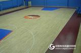 运动木地板的材质和安装