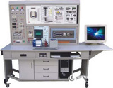 WKDJ-83A型工業自動化綜合實訓裝置( PLC+ 變頻器 + 觸摸屏 + 單片機)