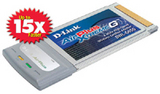 DWL-G650  802.11g/2.4GHz无线108Mbps笔记本网卡