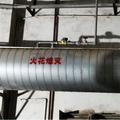 除尘器管道探测火花熄灭装置