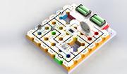 电子积木实验玩具diy科学物理电学实验少儿逻辑 FM调频收音机