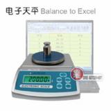 电子天平连接电脑直通Excel表格管理