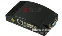【同三维T2000】VGA转S端子/AV视频转换器