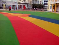 幼兒園塑膠跑道