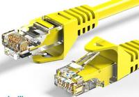 英曼超6类5类非屏蔽千兆电信级网络跳线RJ45