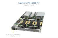 GPU服务器超微1029GQ-TRT支持至强可扩展处理器4片GPU卡深度学习