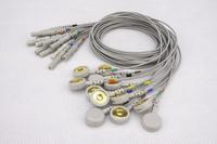 心電電極貼片心電導聯線紐扣電極線