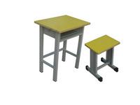 鋼木結構學生課桌椅學生課桌凳升降