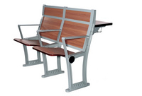 会议厅排椅学校课桌椅大教室座椅阶梯椅 DC-824