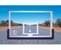高级安全防爆铝合金钢化玻璃篮球板