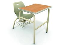 學校家具wave桌