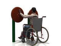 WD-5011AH 太极揉推器 / Handicap Tai Chi Wheel