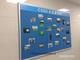 《厂家直销》活动 支架 双面 铝架 水松板 宣传板 布板 广告板100*150
