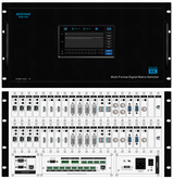 RENSTRON 触控型高清混合矩阵切换器 RHS-18H 触控 混插单路板卡 4K