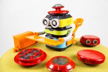 塔克机器人_实体编程、图形化编程_少儿编程机器人_积木机器人_塔克机器人_幼教机器人_新品上市