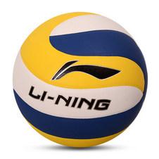 【李宁LI-NING】排球贴皮排球室内外训练比赛专用5号充气柔软训练排球LVQK003-1