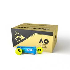 登路普【DUNLOP】601353网球邓禄普ATP澳网铁罐比赛训练用球 整箱24罐