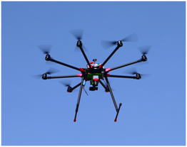 EcoDroneUAS-8多功能無人機遙感系統