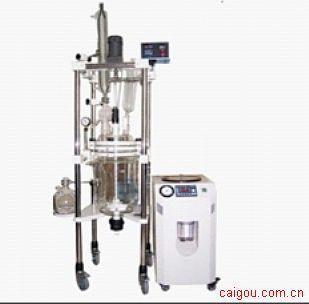 广东双层玻璃反应釜/北京玻璃反应器