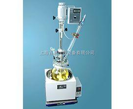 供应双层玻璃反应釜,玻璃反应釜价格参数,双层玻璃反应釜