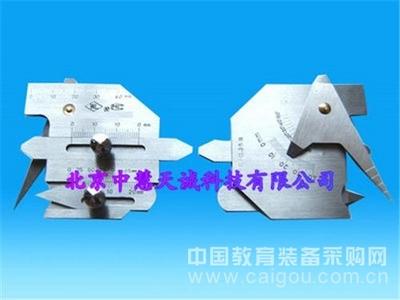 焊接检验尺/焊接规/焊缝规/焊缝尺/焊接测量尺 型号:FJC-40