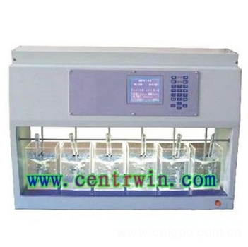 六联搅拌器/程控混凝试验搅拌仪 型号:HL-KTS6-2