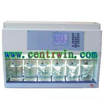 程控混凝试验搅拌仪/6联搅拌器 型号:HL-KTA6-2