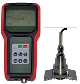 智能外贴便携超声波液位计,便携式外贴超声波液位计  型号:HAD-WTS1