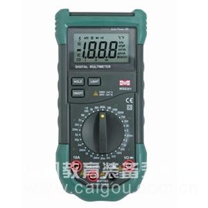 新型全保护电路数字多用表/数字多用表/多用表 型号:HAD-MS8261