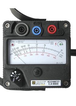 手摇式兆欧表/绝缘摇表 型号:HAD-CA6503