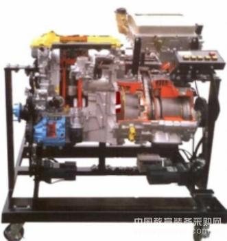 汽车油电混合动力系统解剖模型