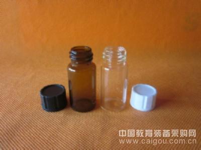 透明 棕色10ml密封样品试剂瓶