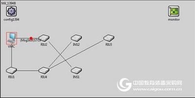 总线网络负载仿真系统