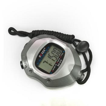 专业秒表多功能电子计时器单排运动跑步裁判用品码表户外定时器