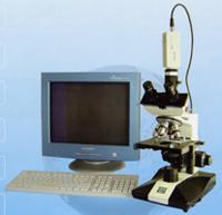 三目生物显微镜   XSP-8CA-V图像显微分析系统