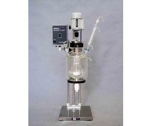实验型双层玻璃反应釜1L